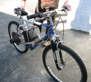 Scotts Starter Motor Powered Bike